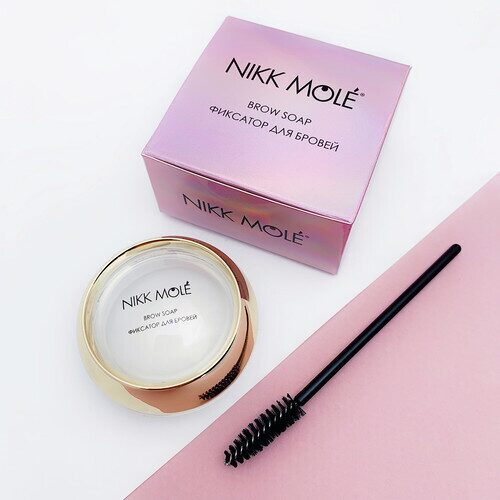 Фиксатор для бровей Nikk Mole Brow Soap (Кокос)